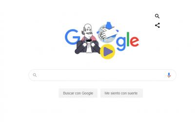 Google Doodle realiza homenaje a la primera persona que sugirió el lavado de manos